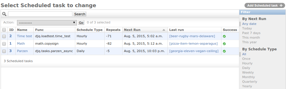 Admin pages — Django Q 1 0 1 documentation
